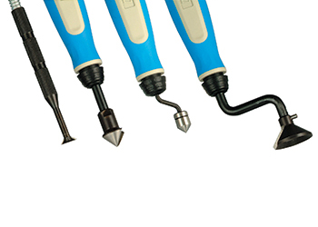Speed Driver Hole Deburring Tool with  4 Cutters
